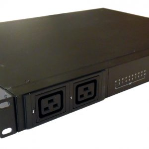 "19"" Rack Mountable ATS - Per Outlet Metering"