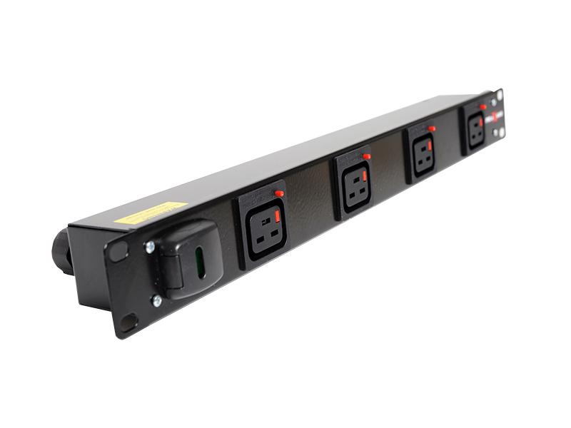 0U Vertical Slimline IEC C19 Outlet PDU