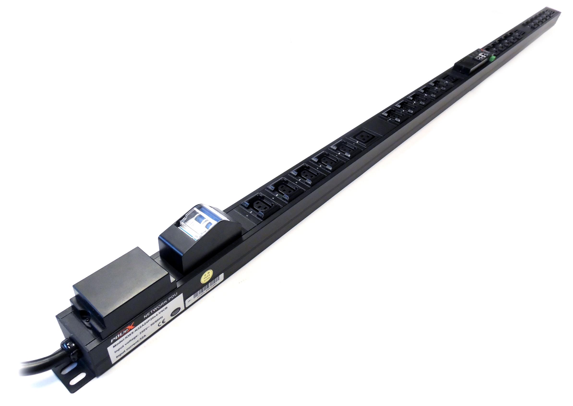 0U Rack Mountable PDU - Per Outlet Metering