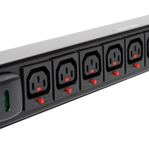 IEC-C13 Lockable Outlet PDU